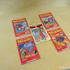 Cómics: LOTE DE 5 COMICS DE DRAGON BALL, TORIYAMA, PLANETA DEAGOSTINI, 1990´S. Lote 205674228