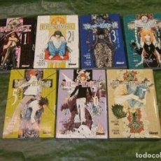 Cómics: MANGA - DEATH NOTE 1 2 3 4 5 6 7 - TSUGUMI OHBA, TAKESHI OBATA - GLENAT. Lote 205686015