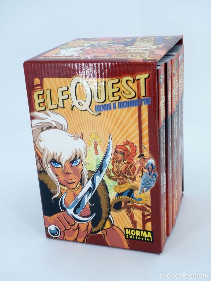 ELFQUEST COMPLETA 8 TOMOS EN ESTUCHE - NORMA - IMPECABLE - SUB01M (Tebeos y Comics - Manga)