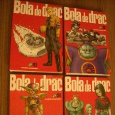 Cómics: 4 COMIC. BOLA DE DRAC. AKIRA TORIYAMA Nº 05-15-20-24. Lote 206223036