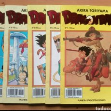 Cómics: DRAGON BALL (AMARILLA) - N° 3 A 7. Lote 206564805