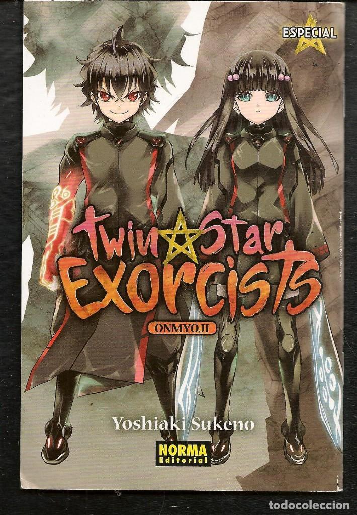 TWIN STAR EXORCISTS. YOSHIAKI SUKENO. EJEMPLAR PROMOCIONAL. NORMA EDITORIAL. (C/A24) (Tebeos y Comics - Manga)