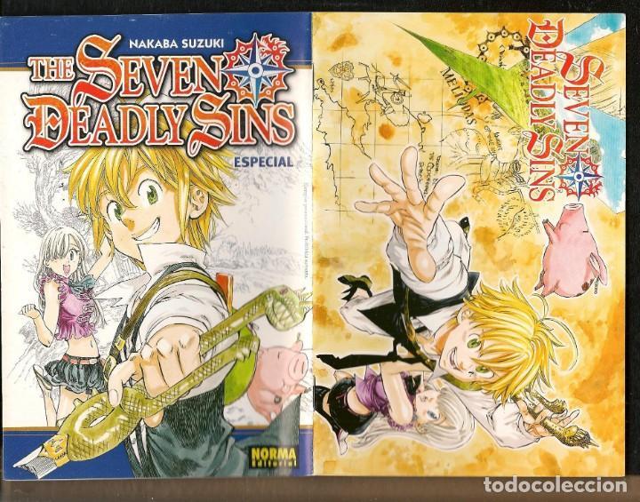 THE SEVEN DEADLY SINS. NAKABA SUZUKI. EJEMPLAR PROMOCIONAL. NORMA EDITORIAL. (C/A24) (Tebeos y Comics - Manga)