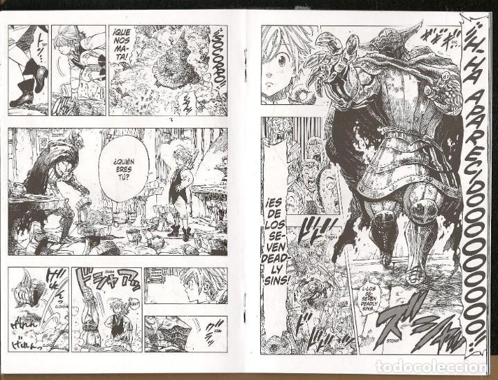 Cómics: THE SEVEN DEADLY SINS. NAKABA SUZUKI. EJEMPLAR PROMOCIONAL. NORMA EDITORIAL. (C/A24) - Foto 2 - 206811162