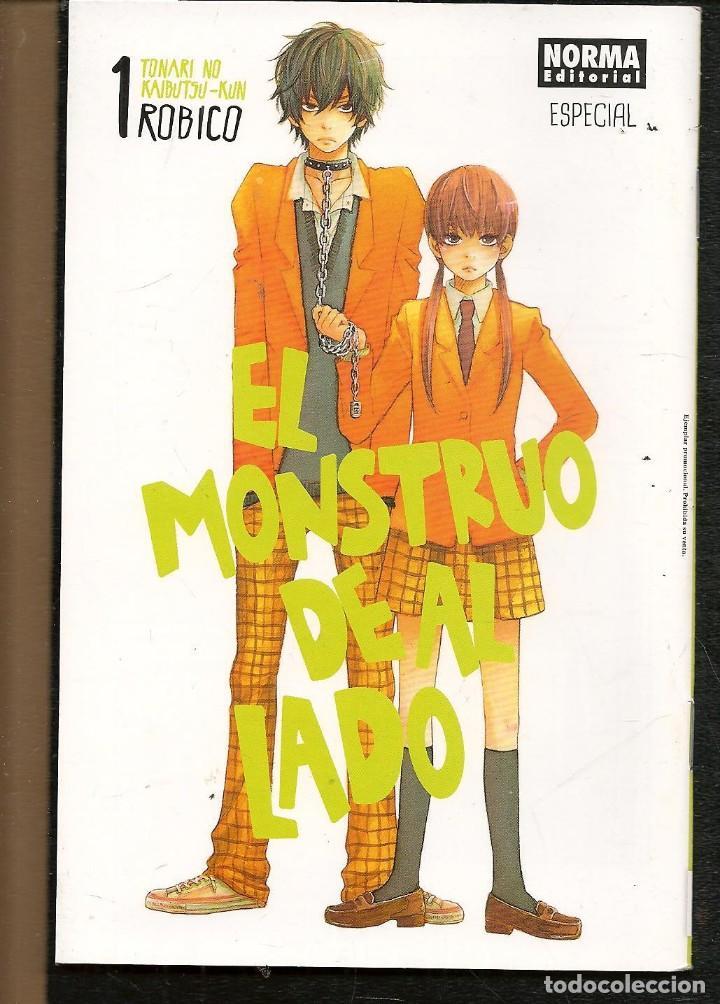 EL MONSTRUO DE AL LADO. 1 ROBICO. EJEMPLAR PROMOCIONAL. NORMA EDITORIAL. (C/A24) (Tebeos y Comics - Manga)