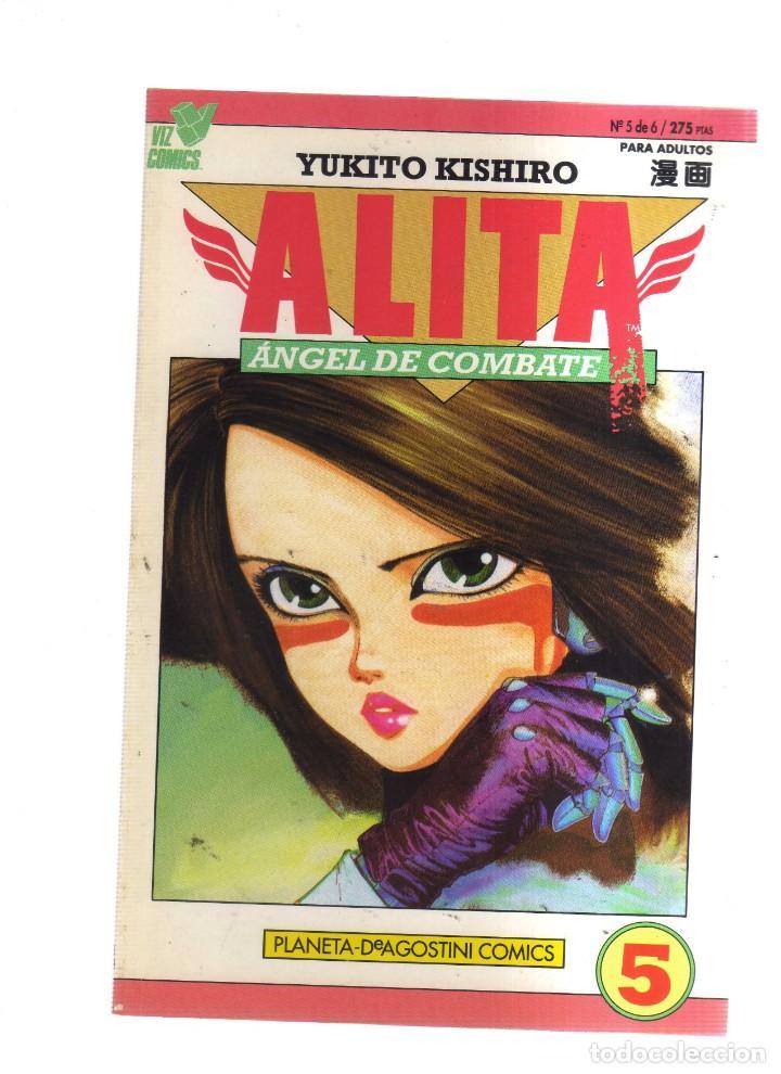 ALITA ANGEL DE COMBATE N,5 DE 6 (Tebeos y Comics - Manga)