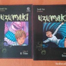 Cómics: UZUMAKI 4 Y 6 - MANGA - COMIC. Lote 208061698