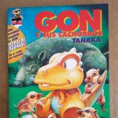 Cómics: GON Y SUS CACHORROS, POR TANAKA (LA CÚPULA, 1996). 36 PÁGINAS EN B/N. SIN PALABRAS.. Lote 209186116