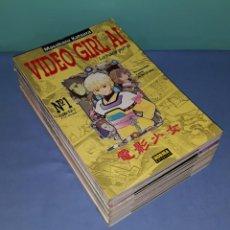 Cómics: 19 COMICS DE VIDEO GIRL AI DE MASAKAZU KATSURA NORMA EDITORIAL EN EXCELENTE ESTADO. Lote 209914640