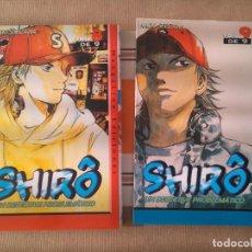 Cómics: SHIRO 8 9 - COMIC - MANGA. Lote 210600337