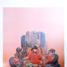 Cómics: POSTER AKIRA REF: 754/2. 50X40 CM (KATSUHIRO OTOMO) 1000 EDITIONS, 2001. OFRT. Lote 210814709