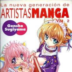 Cómics: LA NUEVA GENERACION DE ARTISTAS MANGA VOL. 2 - GENSHO SUGIYAMA - NORMA EDITORIAL 2002. 1ª ED.. Lote 212387201