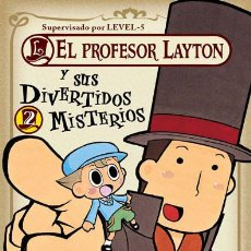 Cómics: CÓMICS. MANGA. EL PROFESOR LAYTON Y SUS DIVERTIDOS MISTERIOS 02 - NAOKI SAKURA. Lote 213437742