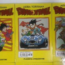 Cómics: DRAGON BALL TOMOS AMARILLOS 42/42 COMPLETA + 6 TOMOS DE TORIYAMA + 6 GUIAS Y REVISTAS EXTRAS!!!. Lote 213625896