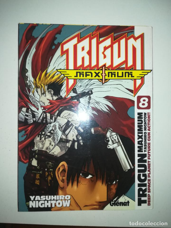 TRIGUN MAXIMUM #8 (GLENAT) (Tebeos y Comics - Manga)