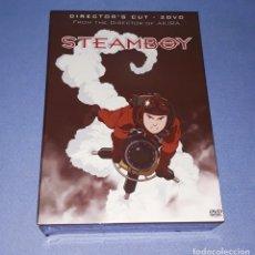 Cómics: STEAMBOY CAJA EDICION ESPECIAL 2 DVD COMPLETA PARA COLECCIONISTAS EN EXCELENTE ESTADO. Lote 213863563
