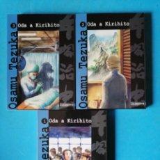 Cómics: ODA A KIRIHITO 1 A 3. COMPLETA (OSAMU TEZUKA) OTAKULAND, 2004 (PRECINTADOS). Lote 252941840
