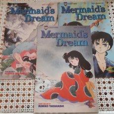 Cómics: MERMAID'S DREAM. 1 AL 3. COMPLETA. RUMIKO TAKAHASHI. ORIGINAL USA. Lote 213964241