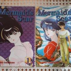 Cómics: MERMAID'S SCAR. 1 AL 4. COMPLETA. RUMIKO TAKAHASHI. ORIGINAL USA. Lote 213964631