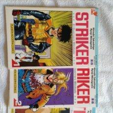 Cómics: STRIKER EL GUERRERO BLINDADO - MINISERIE COMPLETA DE 3 NÚMEROS - PLANETA / VIZ 1993 DE LUJO!!!. Lote 214028068