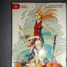 Comics : NARUTO Nº 6 (DE 72), MASASHI KISHIMOTO. Lote 214566630
