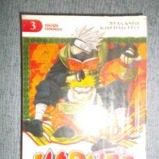 Comics : NARUTO Nº 3 (DE 72), MASASHI KISHIMOTO. Lote 214801240