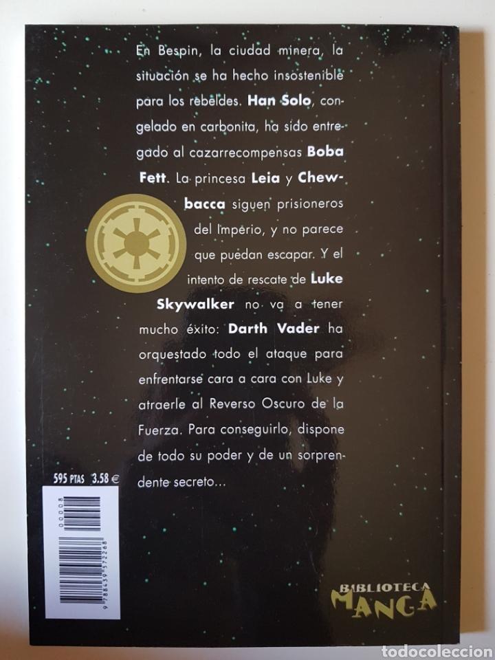 Cómics: STAR WARS BIBLIOTECA MANGA Nº 8 EL IMPERIO CONTRAATACA BOBA FETT- PLANETA DE AGOSTINI COMIC - Foto 2 - 214825636