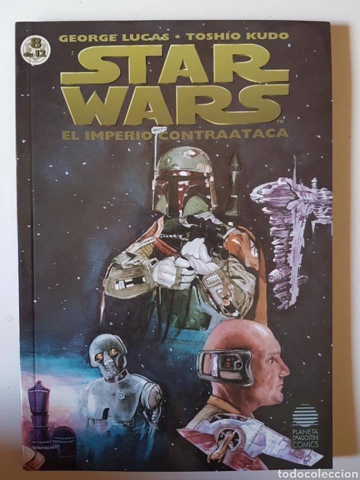 STAR WARS BIBLIOTECA MANGA Nº 8 EL IMPERIO CONTRAATACA BOBA FETT- PLANETA DE AGOSTINI COMIC (Tebeos y Comics - Manga)