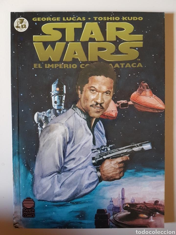 STAR WARS BIBLIOTECA MANGA Nº 7 EL IMPERIO CONTRAATACA - PLANETA DE AGOSTINI COMIC (Tebeos y Comics - Manga)