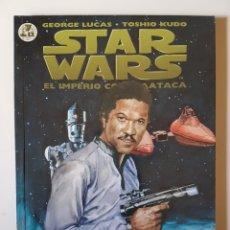Cómics: STAR WARS BIBLIOTECA MANGA Nº 7 EL IMPERIO CONTRAATACA - PLANETA DE AGOSTINI COMIC. Lote 214825663