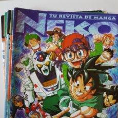 Comics : LOTE REVISTA NEKO Nº 26 27 28 30 31 - FALTAN PÁGINAS DE COLOR CENTRALES - CAMALEÓN EDICIONES. Lote 214925081