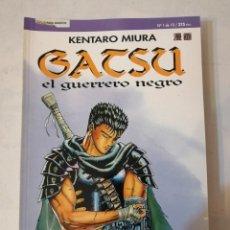 Cómics: GATSU - EL GUERRERO NEGRO / COMPLETA 10 NÚMEROS / KENTARO MIURA / PLANETA COMICS.. Lote 215187767