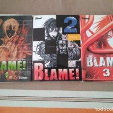 Comics : BLAME! 1 2 Y 3 - COMIC MANGA. Lote 215460883