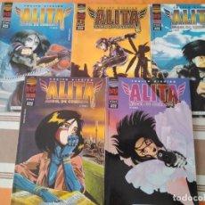 Cómics: ALITA ANGEL DE COMBATE 4º CUARTA PARTE COMPLETA - COMIC MANGA PLANETA. Lote 215463200