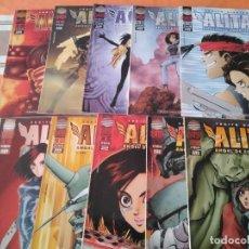 Cómics: ALITA ANGEL DE COMBATE 5º QUINTA PARTE COMPLETA - COMIC MANGA PLANETA. Lote 215463702