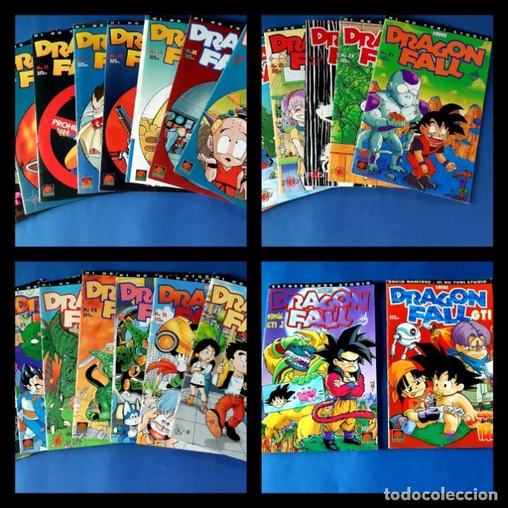 DRAGON FALL-COMPLETA CON LOS DOS ESPECIALES-EXCELENTE ESTADO (Tebeos y Comics - Manga)