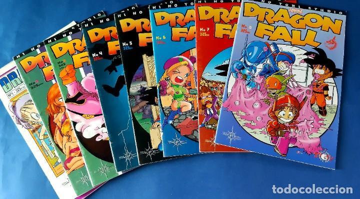 Cómics: DRAGON FALL-COMPLETA CON LOS DOS ESPECIALES-EXCELENTE ESTADO - Foto 3 - 215699317
