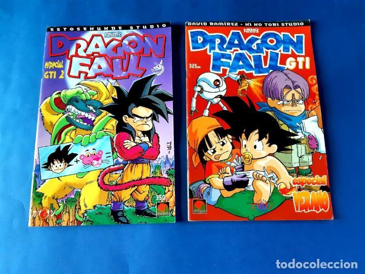 Cómics: DRAGON FALL-COMPLETA CON LOS DOS ESPECIALES-EXCELENTE ESTADO - Foto 6 - 215699317