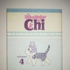 Cómics: EL DULCE HOGAR DE CHI #4 (GLENAT). Lote 216379016