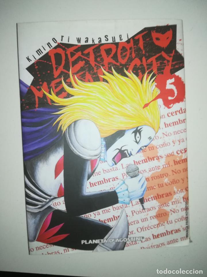 DETROIT METAL CITY #5 (PLANETA) (Tebeos y Comics - Manga)
