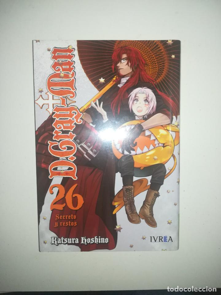 D.GRAY-MAN #26 (IVREA) (Tebeos y Comics - Manga)
