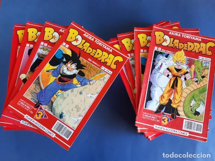 BOLA DE DRAC -LOTE DE 36 - SERIE ROJA-EN CATALAN-EXCELENTE ESTADO (Tebeos y Comics - Manga)