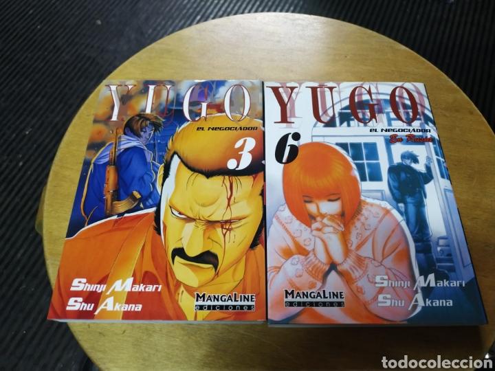 YUGO EL NEGOCIADOR LOTE DE 2 Nº 3 Y 6 MANGALINE (Tebeos y Comics - Manga)