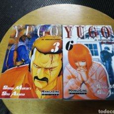 Cómics: YUGO EL NEGOCIADOR LOTE DE 2 Nº 3 Y 6 MANGALINE. Lote 40941107