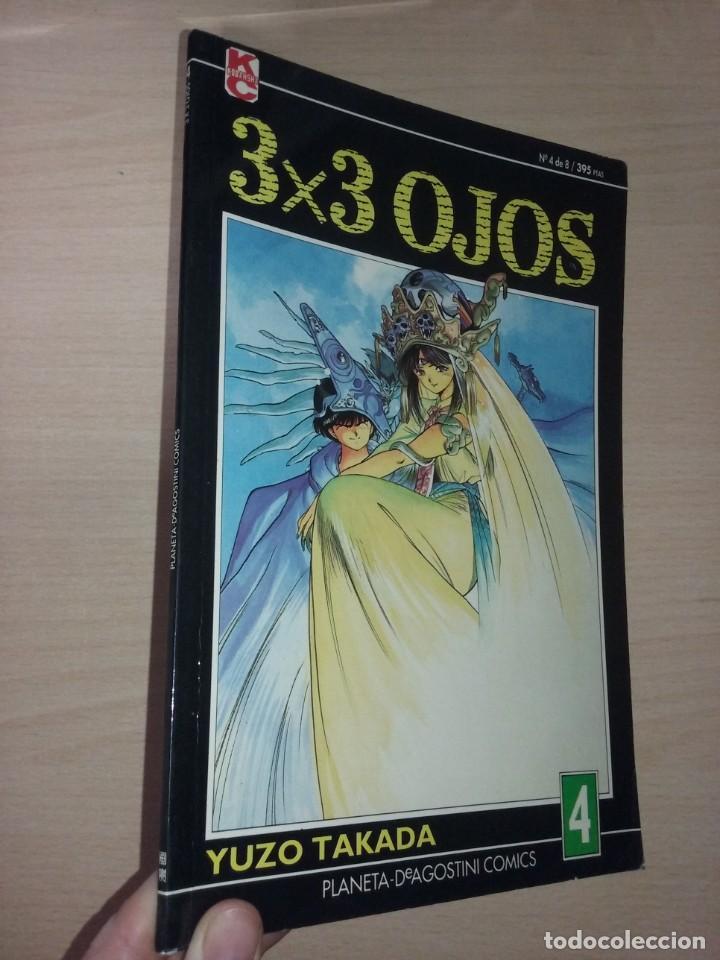 3X3 OJOS Nº4 DE 8 - YUZO TAKADA (PLANETA DE AGOSTINI COMICS) (Tebeos y Comics - Manga)
