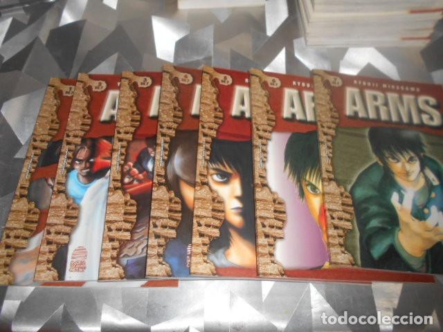 OBRA COMPLETA EN 7 NUMEROS DE ARMS - RYOUJI MINAGAWA (Tebeos y Comics - Manga)