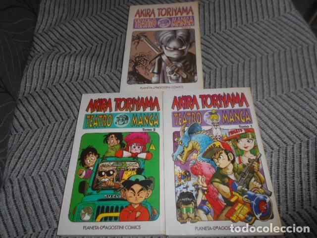 OBRA COMPLETA EN 3 NUMEROS DE TEATRO MANGA - AKIRA TORIYAMA (Tebeos y Comics - Manga)