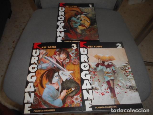 OBRA COMPLETA EN 3 NUMEROS DE KUROGANE - KEI TOME (Tebeos y Comics - Manga)