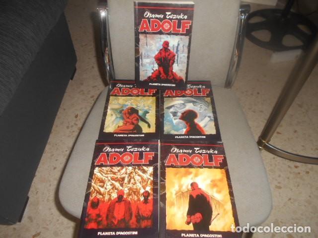 OBRA COMPLETA EN 5 NUMEROS ADOLF - OSAMU TEZUKA (Tebeos y Comics - Manga)
