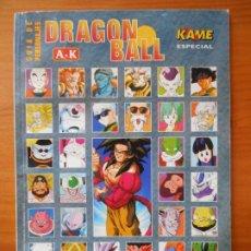 Cómics: DRAGON BALL - GUIA DE PERSONAJES DE LA A A LA K - KAME ESPECIAL (A). Lote 218318901